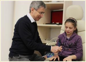 Laser Agopuntura Occhio Pigro per Bambini Dr. Marzio Vanzini Bologna