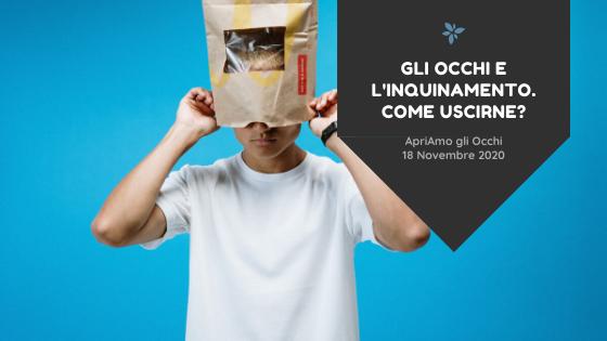 ApriAmo gli Occhi webinar gratuito miglioramento stile di vita Marzio Vanzini